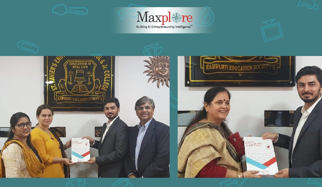 Maxplore Clubs launched at St. Xaviers Campus, Thane