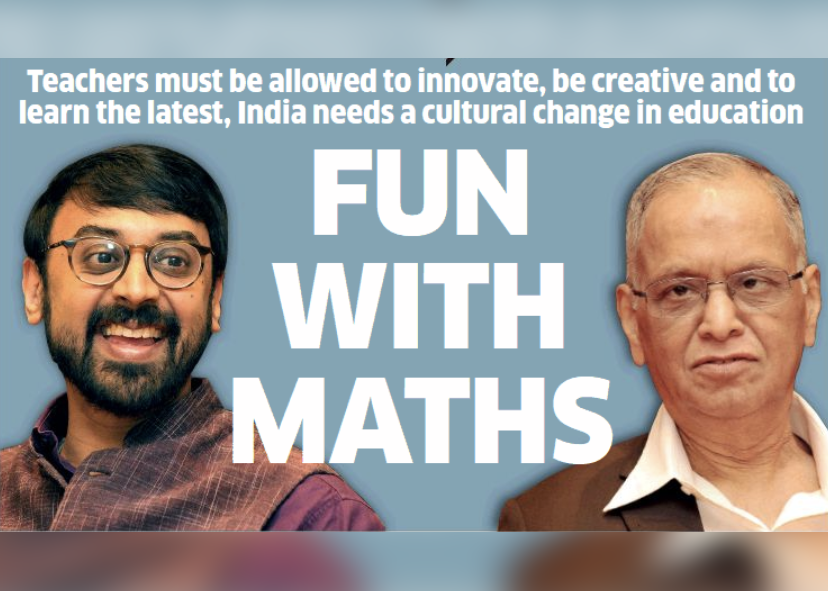 India need a cultural change in Education – Manjul Bhargava